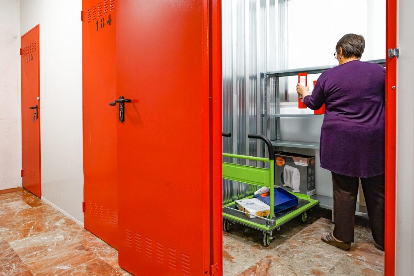 Alquiler de trasteros y mini almacenes en Pueblo Nuevo