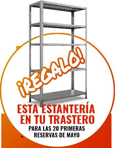 Oferta especial alquiler de trastero en Ciudad Lineal durante Mayo de 2019
